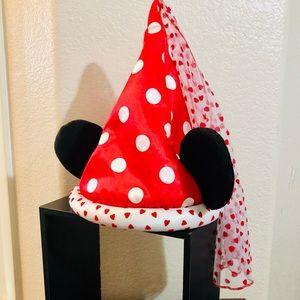 Disney Parks Princess Minnie Mouse Ears with Veil